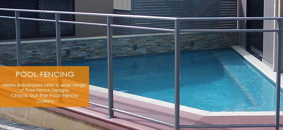 Pool-Fencing balustrade, aluminium, stainless steel balustrade Perth