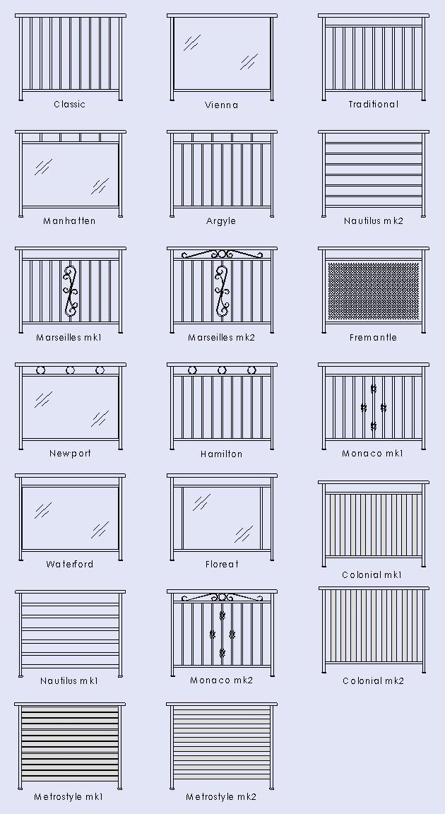 balustrade designs metro balustrades. Black Bedroom Furniture Sets. Home Design Ideas