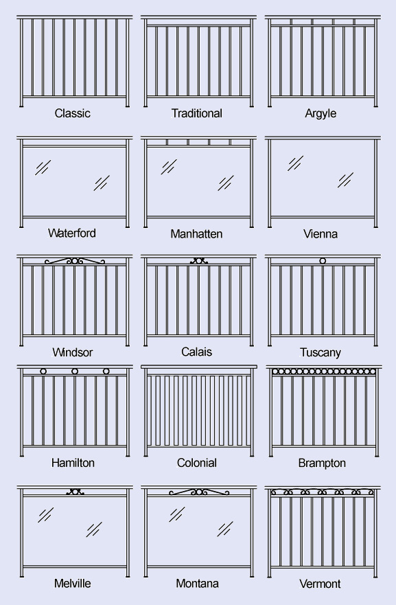 Fencing Designs | Metro Balustrades
